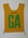 Australian team uniform positional bib, c. 1990