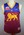 Brisbane Lions guernsey worn by Luke Power during 2001 AFL Grand Final