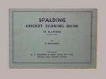 Fairfield Diggers Cricket Club scorebook, season 1950-51