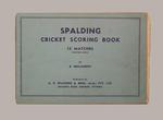 Fairfield Diggers Cricket Club scorebook, season 1949-50