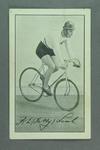 Trade card featuring Fatty Lamb, c1930s