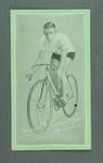 Trade card featuring Horrie Pethybridge, c1930s