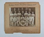 Photograph - Albert Park Old Boys' Cricket Club 1937-38 - presented to A.J. Stodgell, President.