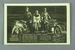 Trade card souvenir of Hubert Opperman's 1000 Mile Marathon, c1930