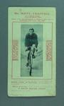 Advertisement depicting Matt Chappell on Relay Cycle, c1902
