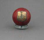 Cricket Ball presented to Henry F. Boyle by East Melbourne CC Season 1892-3