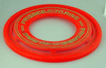 Frisbee manufactured  by Wham-O, distributed  in Australia by Toltoys c. 1978