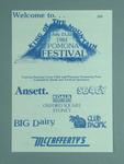 Programme, Pomona King of The Mountain Festival 1984