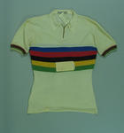 Cycling jersey awarded to Sid Patterson, for his victory in the 1949 World Amateur Sprint Championship