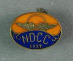 Cufflink - N.D.C.C. 1937 [Northern District Cycling Club?]