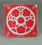 Packaging for BSA chain wheel, used by Hubert Opperman c1930