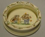 Bowl, depicts koalas playing cricket