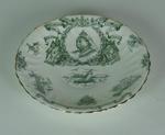Saucer, commemorates Queen Victoria Diamond Jubilee