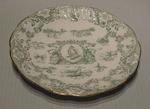 Plate, commemorates Queen Victoria Diamond Jubilee