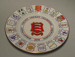 Plate, County Cricket Champions - Essex 1979
