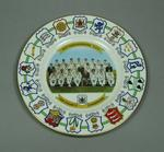 Plate, County Cricket Champions - Nottinghamshire 1981