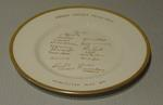 Commemorative plate:   Indian Cricket Team - Worcester, 3 May 1967