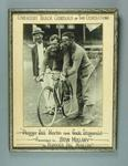 Photograph of cyclists 'Plugger' Bill Martin & Jack Fitzgerald
