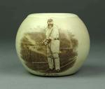 Match holder with printed image of W G Grace