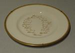 "Plate, ""Australia Touring Side - England 1953"""