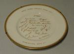 "Plate, ""West Indies Cricket Team - 1957"""