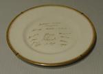 "Plate, ""New Zealand Cricket Team - 1949"""