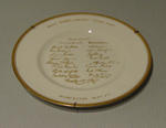 "Plate, ""West Indies Cricket Team - 1963"""
