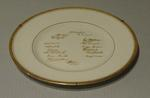 """Plate, """"South African Touring Side - England 1955"""""""