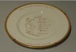 "Plate, ""New Zealand Cricket Team - 1965"""