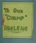 Letters from school children to Raelene Boyle, 1976 Olympic Games