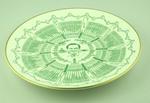 Royal Grafton 'Century of Centuries ' plate featuring T.W. Graveney O.B.E.