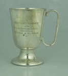 Trophy, Colac Tennis Tournament 1934 A Grade Handicap Doubles Runners Up
