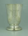 Trophy, Colac Tennis Tournament 1936 A Grade Handicap Doubles Runners Up