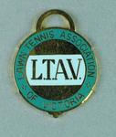 Lawn Tennis Association of Victoria membership medallion, 1979-80