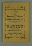 Official handbook of the Lawn Tennis Association of Victoria, 1927