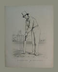 """Standing in Attitude , No. 1"", by John C. Anderson c.1860"