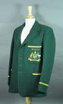 Australian team blazer worn by L Righetti, Bisley shooting competition