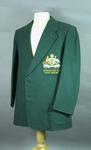 Australian rifle team blazer worn by L Righetti, Empire Match 1958