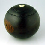 Lawn bowl, used by R S Inglis