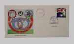 First day cover, West Indies cricket tour of England - Test Series, 4 August 1988