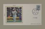 First day cover, England v India Test match - 19 Jun 1986