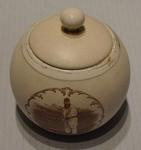 Circular container with lid -  image of W G Grace