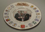 County Cricket Champions plate, 1986