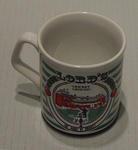 Ceramic mug with colour Lords Cricket Ground print