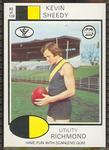 1975 Scanlens VFL Football Kevin Sheedy trade card