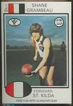 1975 Scanlens VFL Football Shane Grambeau trade card