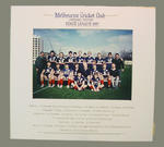 Photograph of Melbourne Cricket Club - Lacrosse Section, State League 1987