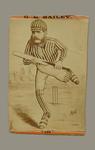 """Trade card, """"G.H. Bailey, 106"""""""
