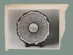 Photograph of ceramic plate, W G Grace Century of Centuries