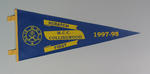 Pennant for MDRA Teams Competition, 1997-98